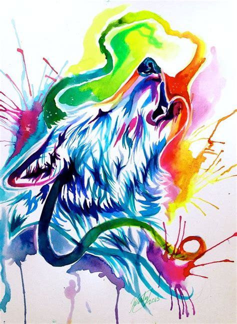 watercolor wolf tutorial 165 best images about dog art on pinterest lady and the