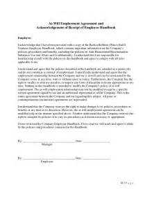 Employee Vehicle Use Agreement Template by Employee Handbook