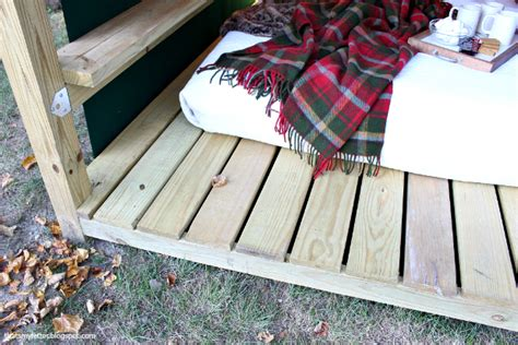 how to build a cabana that s my letter build an outdoor cabana lounge