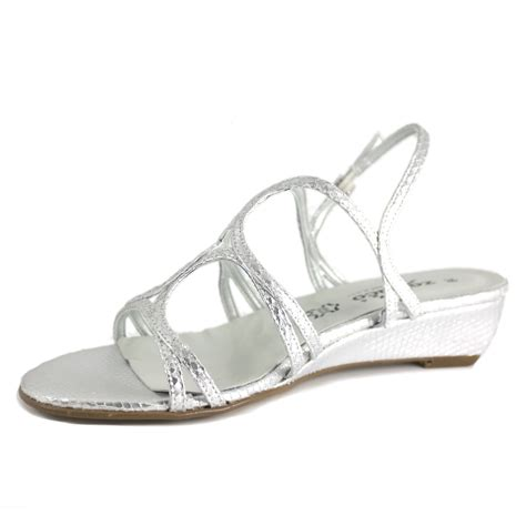 silver shoes without heel low heel silver sandals low heel sandals