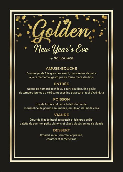 golden sun new year menu tout le programme des f 234 tes de fin d 233 e au sofitel
