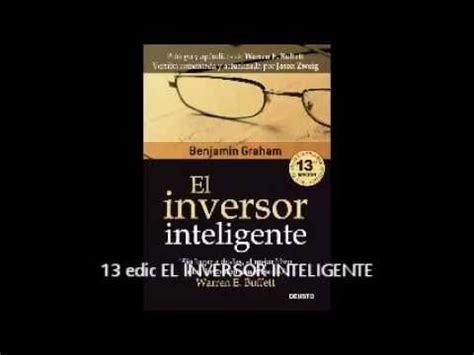 el inversor inteligente audiolibro el inversor inteligente benjamin graham audio libros crochet leaf
