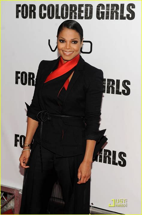 janet jackson for colored premiere photo