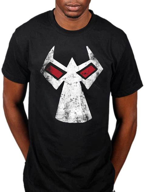 kaos t shirt bane batman batman bane mask t shirt dc comics