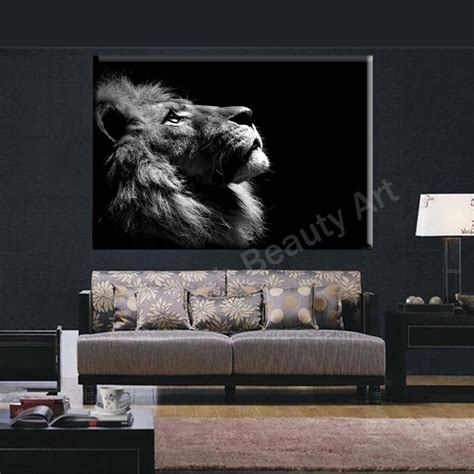 lion decor home 2016 lion king wall art canvas prints modern art painting