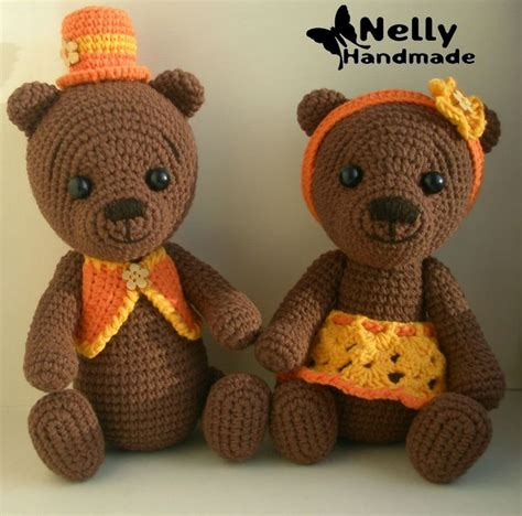 Handmade Teddy Patterns - 1000 images about crochet bears on free