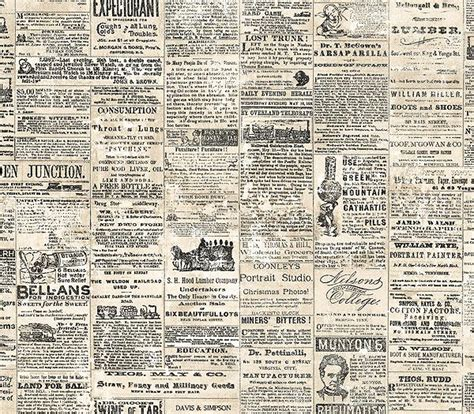 newspaper wallpaper pinterest newspapers reclaimed for decors jaima company