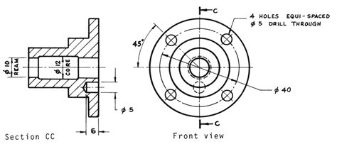 What Is Pcd In Engineering Drawing lecture notes engineering drawing part 4