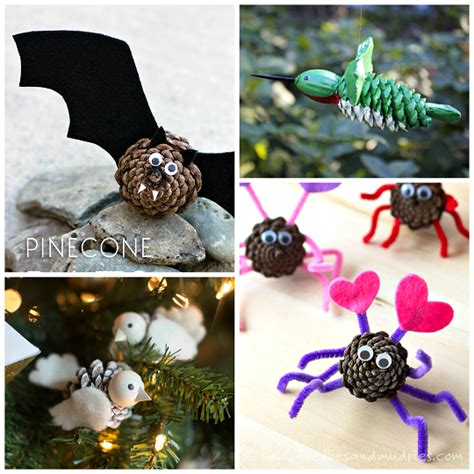pinecone craft pine cone crafts for to make crafty morning
