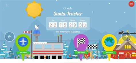 santa tracker santa tracker 2014 update brings android wear support
