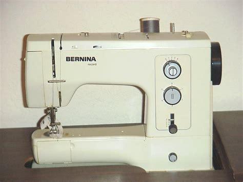 used sewing machine sewing bernina sewing machines