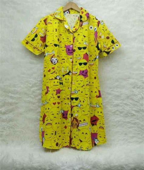 Baru Piyama Baju Tidur Dewasa Dress D Termurah pusat grosir baju tidur catra daster wanita dewasa murah 50ribu