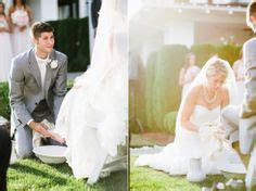 Our Foot Washing Ceremony #wedding #footwashing #