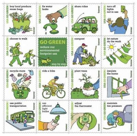 7 Tips On Going Green And Staying Green by Usps Go Green Sts Help The Environment
