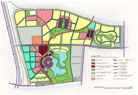 layout of land use integrated design studio 187 resort and commercial