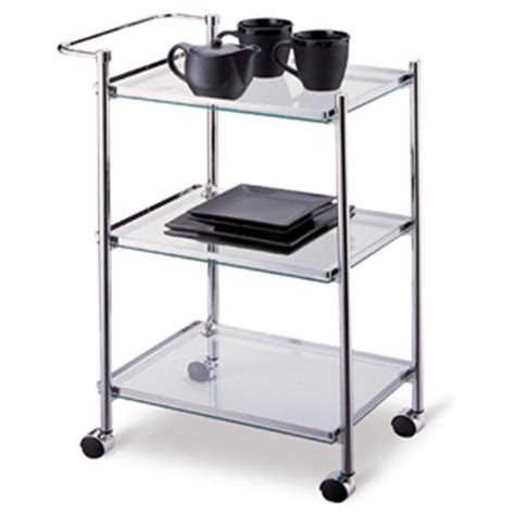 Kitchen Serving Cart by Kitchen Serving Cart In Metallic Finish 62933 Oi