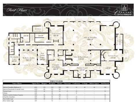 Chateau Floor Plans by Floor Plans Chateau Lacanaudchateau Lacanaud Luxamcc