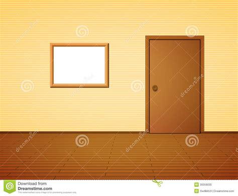 Room Door Frame Room With Door And Frame Stock Photo Image 30059030