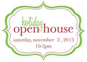 holiday open house clipart 67