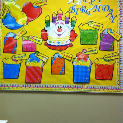 birthday bulletin board templates bulletin board birthday cake ideas and designs