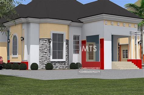 four bedroom bungalow design 4 bedroom bungalow residential homes and public designs