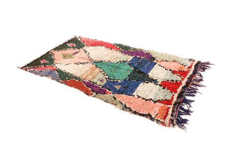 marokkanischer teppich marokkanischer berber teppich boucherouite 240 x 120 cm