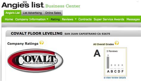 Angies List Plumbing by Covalt Floor Repair Concrete Floor Repair Concrete Floor