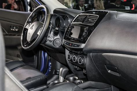mitsubishi outlander sport 2016 interior 2016 mitsubishi outlander sport debuts with updated