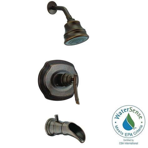 Sprei Pegasus pegasus bamboo watersense single handle 3 spray tub and