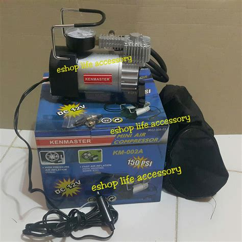 Mini Compresor Kompresor Air Pompa Angin Ban Kenmaster 300 Psi Murah jual pompa angin ban mobil portable kompresor air
