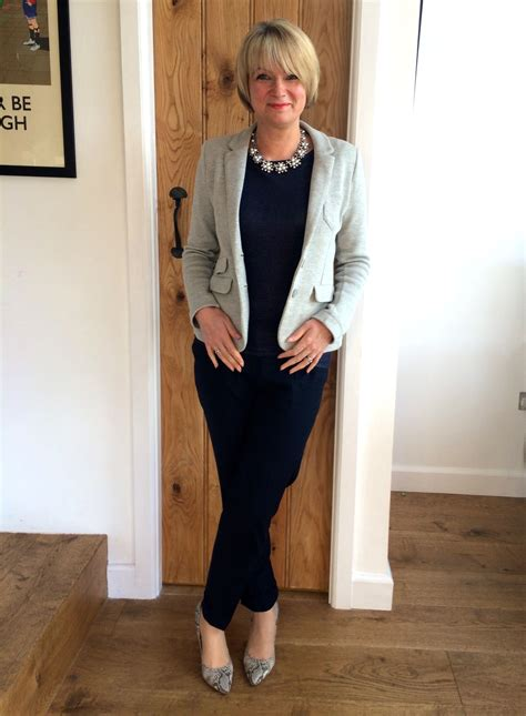 trendy fashion for 53 year old female new spring fashion for women over 40 gray jacket spring