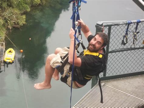 taupo bungy swing before the swing picture of taupo bungy taupo