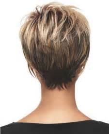 images of back of hairstyles short pixie haircuts back of head