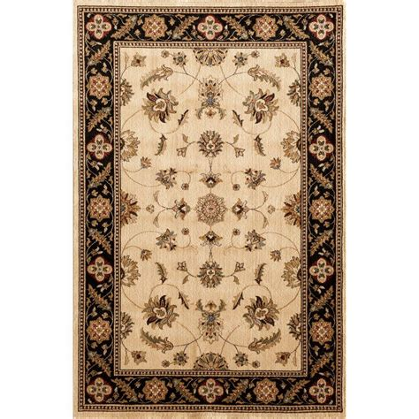 Natco Rugs by Natco Stratford Kazmir Ivory 5 Ft X 7 Ft 7 In Area Rug