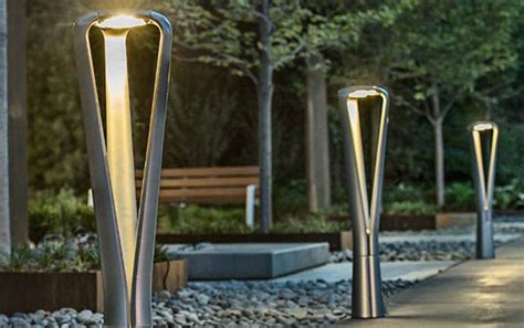 landscape forms led path lighting bollards light abilities