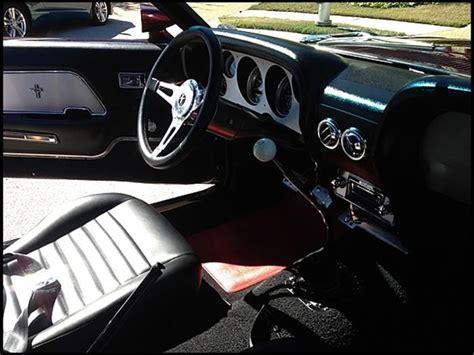 1969 ford mustang fastback interior garage