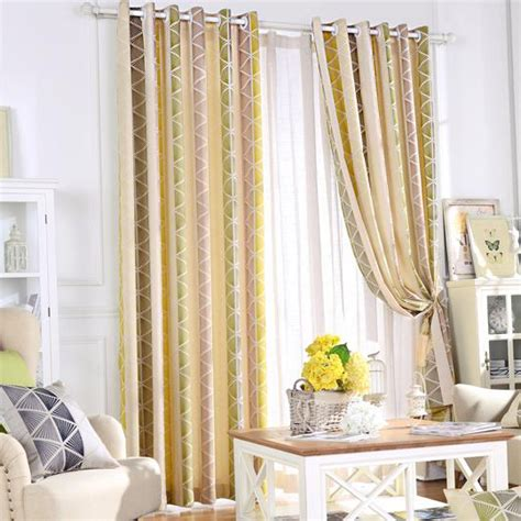 yellow striped jacquard poly cotton blend contemporary colorful geometric jacquard poly cotton blend contemporary