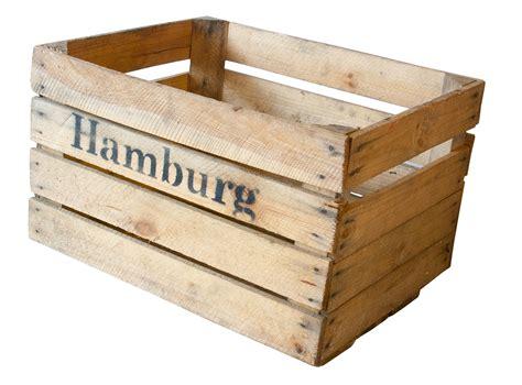 Alte Obstkisten Kostenlos by Apfelkiste Mit Aufdruck Quot Hamburg Quot 50x40x30 Cm