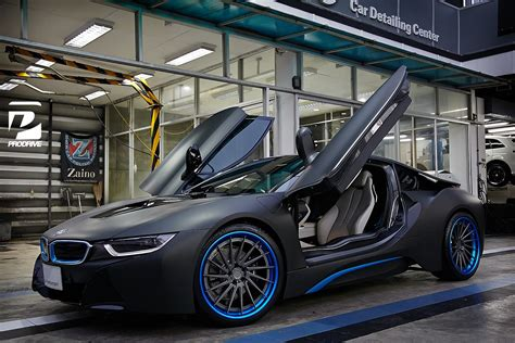 thai bmw   custom blue adv wheels gtspirit