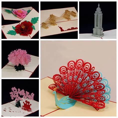 Amazing Handmade Cards - amazing handmade greeting cards kirigami 3d pop up card
