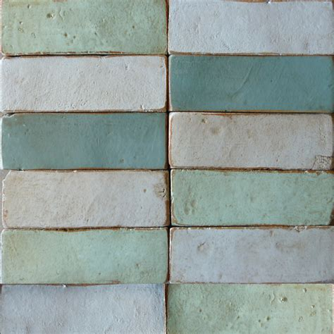 Handmade Floor Tiles - brick terracotta tile tabarka studio