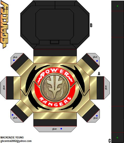 How To Make Power Rangers Morpher With Paper - white ranger morpher prototype by 80sguy on deviantart
