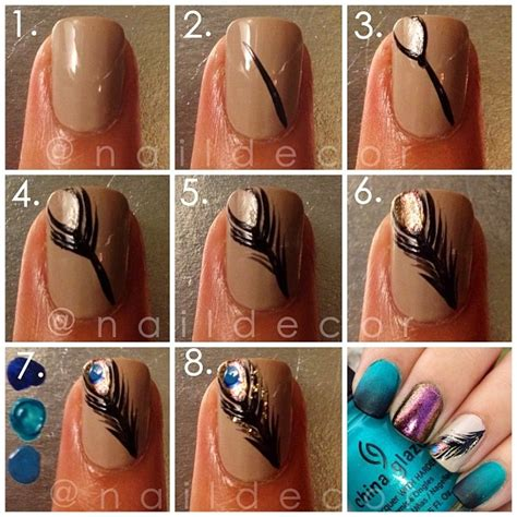 Nail Tutorials by 22 Easy Nail Tutorials Nail Tutorials Pretty Designs