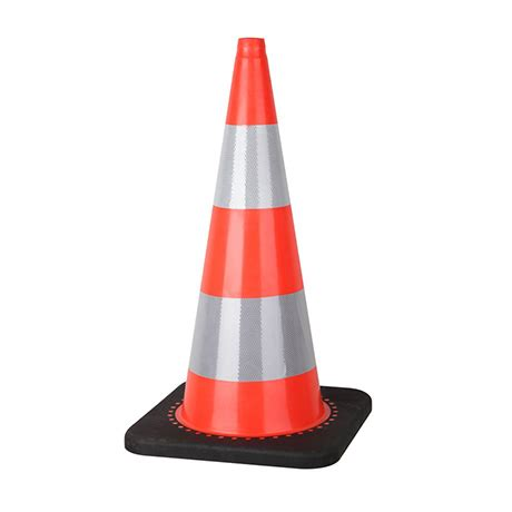Traffic Cone 75cm traffic cones traffic cone pvc 75cm with black heavy
