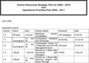 hr strategy plan template the hr strategic plan template exle1 can help you make