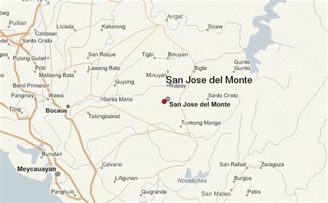san jose monte map bulacan san jose monte location guide