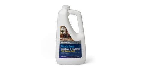 Armstrong Once N Done Resilient And Ceramic Floor Cleaner by Armstrong Once N Done Resilient Ceramic Floor Cleaner