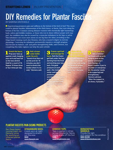 easy remedies for plantar fasciitis pequot runners