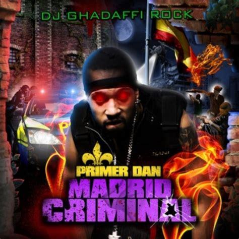Record Criminal Personas Primer Dan Madrid Criminal 2008