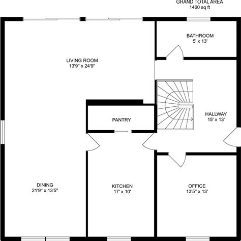 floor plan dimensions floor plan with dimensions roomsketcher